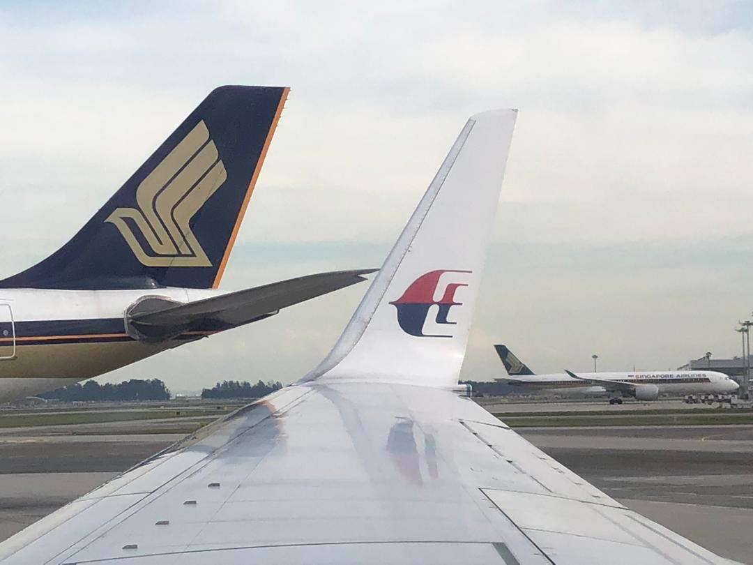 Resultado de imagen para Malaysia Airlines Singapore Airlines