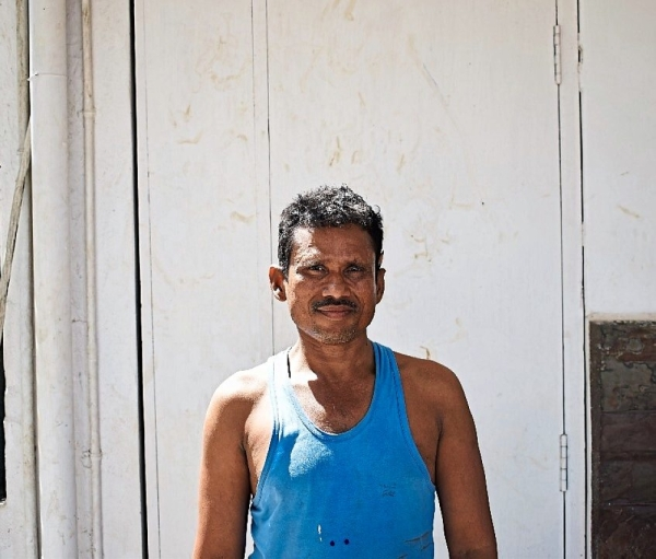 Manoj Mistry, a 39-year-old carpenter has had to leave home, travelling from Delhi to Mumbai and finally, Chennai, in search of work.