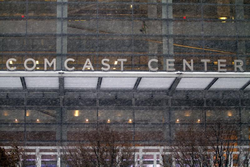 Comcast headquarters in downtown on Feb 13, 2014 in Philadelphia, Pennsylvania. Comcast recently announced its intent to acquire Time Warner Cable in a US$45bil deal - AFP Photo.