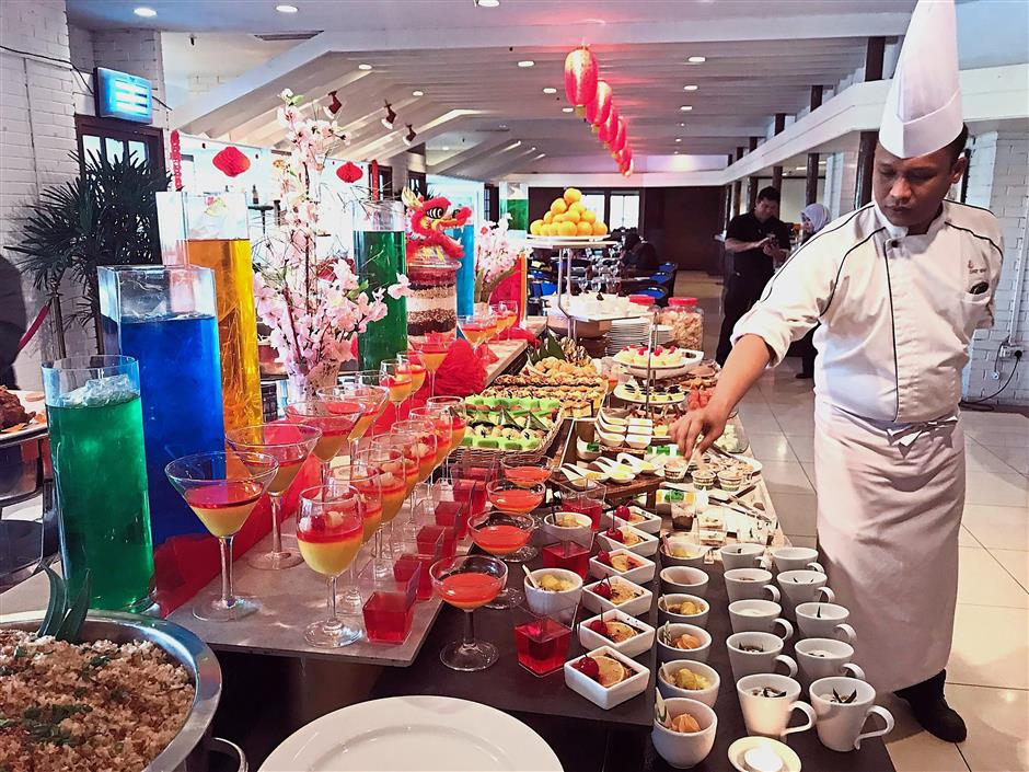The Impiana Hotel Ipoh festive buffet will include a variety of dishes for Chinese New Year.