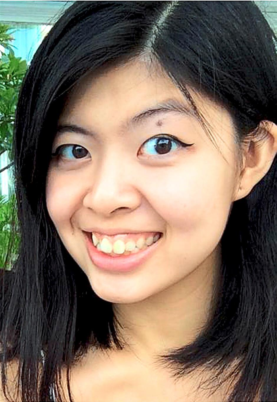 Fong: Says rising costs will influence her career choice after she graduates.
