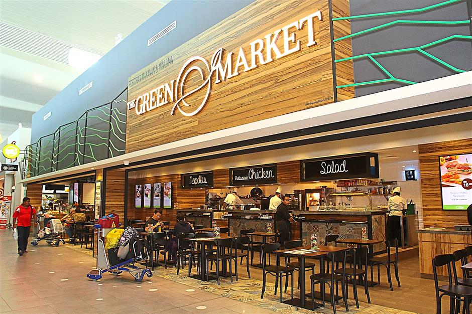 Diversified offerings: The Plaza Premium Lounge group has expanded into other related businesses such as its food and beverage unit, The Green Market, to offer travellers a more integrated experience