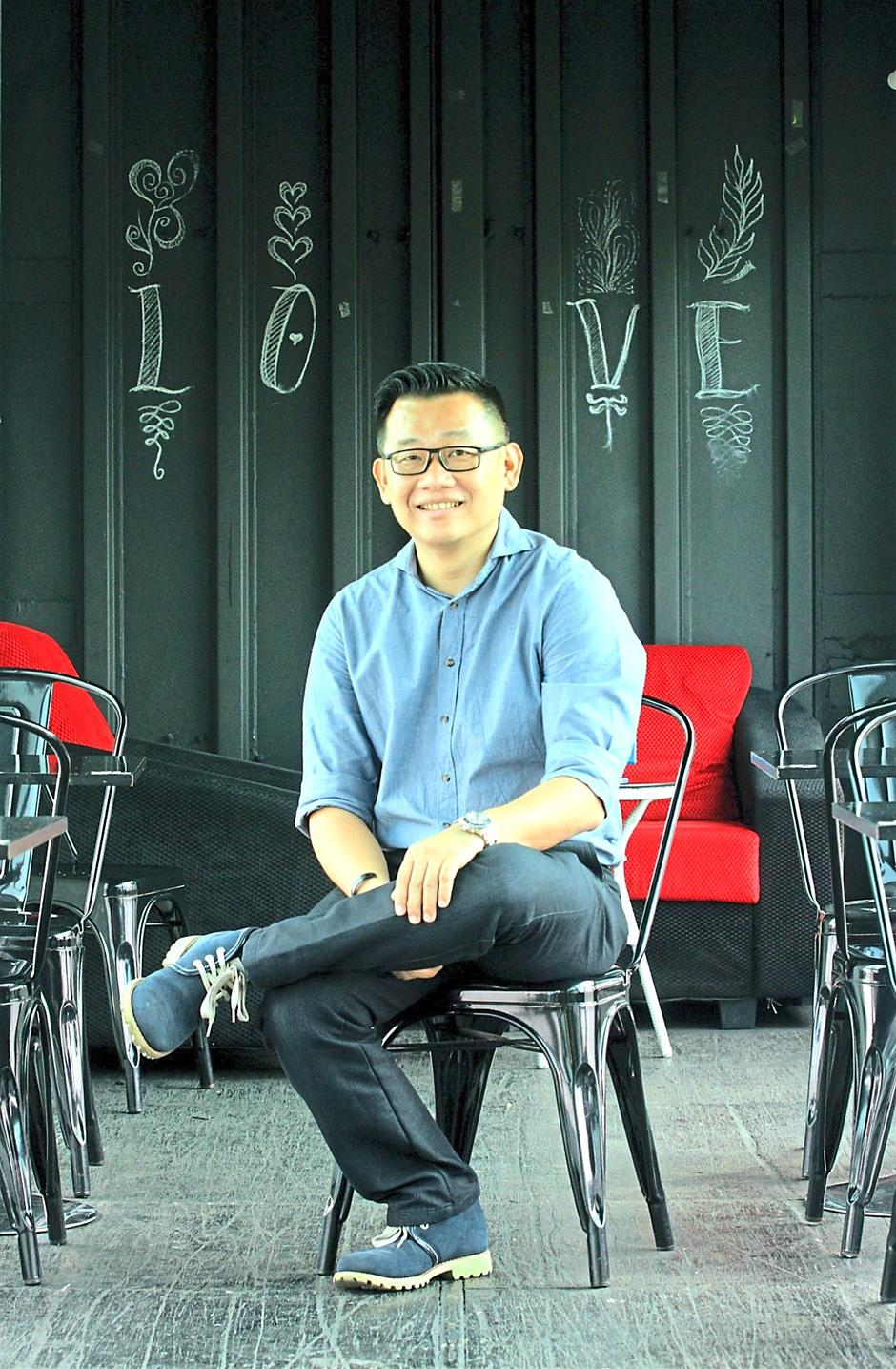 The driving force behind the container cafe concept, Chan intends to introduce more concepts and container ideas at Le Gardenz Cafe.