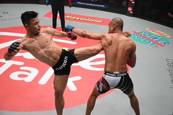 Saiful wants to put an end to the stigma attached to professional fighters that they are violent.