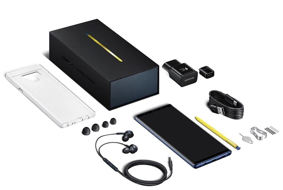 The Note 9 comes with earbuds tuned by audio specialist AKG, among other things. Do note that the power plug for the Malaysian unit is three pins.