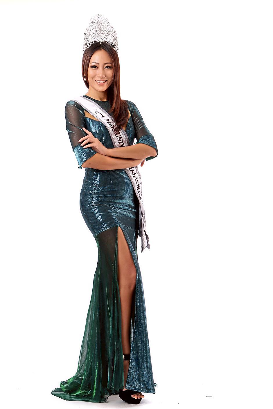 Miss Universe Malaysia 2015 Vanessa Tevi Kumares