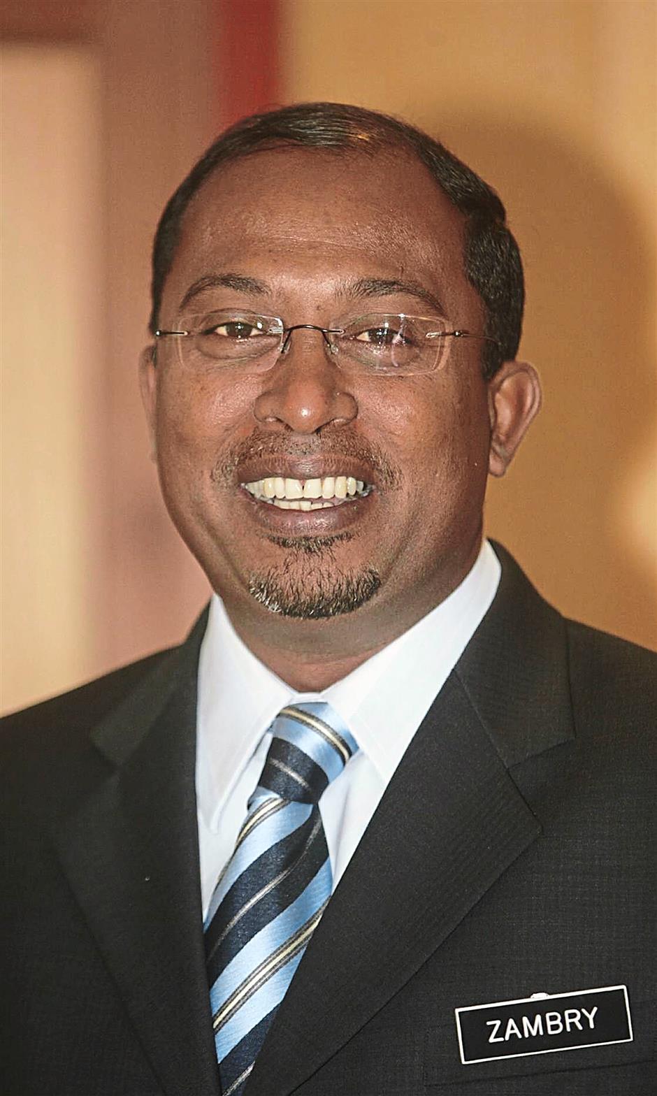 YB Datuk Dr. Zambry b. Abd Kadir- (BN-UMNO Pangkor)