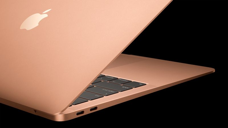 The long wait for an update to the MacBook Air is over. Apple is adding a TouchID fingerprint login, a bigger trackpad and louder audio, as well as what it says the most requested feature from users. u2014 Apple/dpa