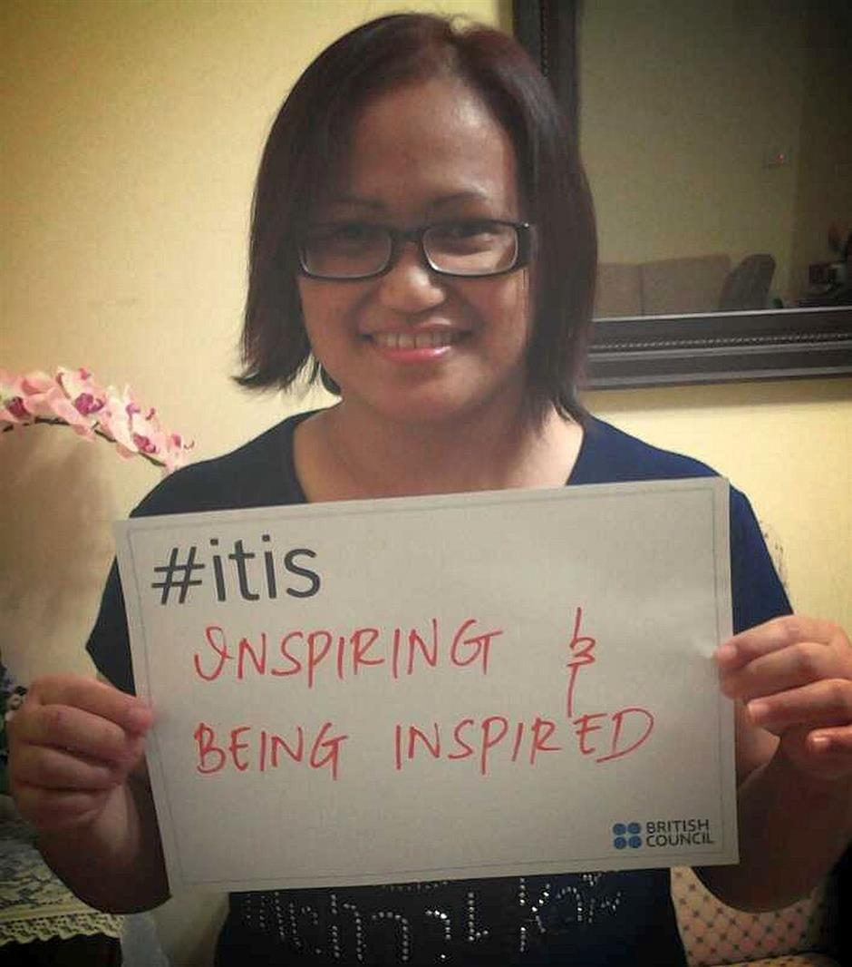 Finding inspiration: James says that 'it' is about inspiring others and being inspired.
