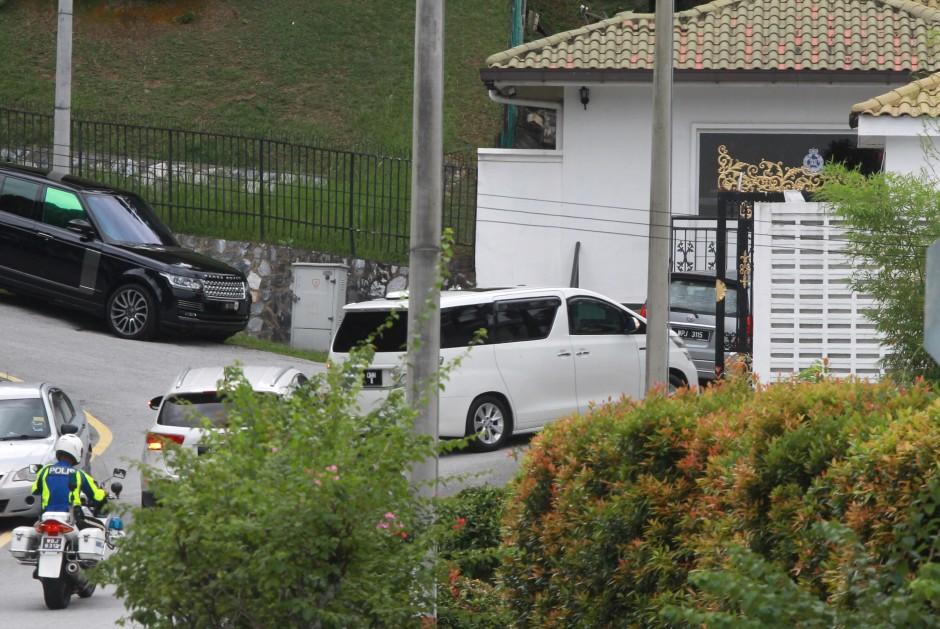 A file picture of Najib's house in Jalan Langgak Duta in Kuala Lumpur.