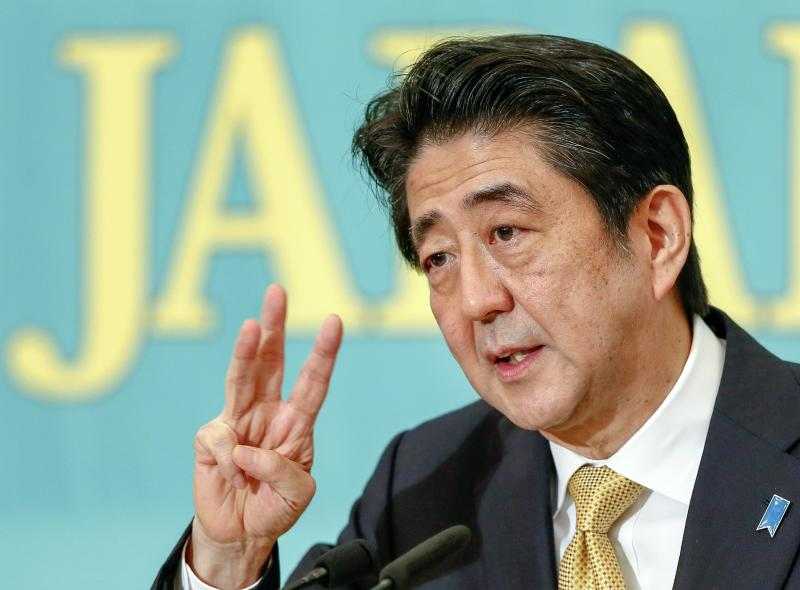 Some 55% of companies polled by Reuters said the economy was at a standstill, and 14% said it was in recession, with many wanting Abe, who is expected to win a fresh election in December, to cut corporate and income tax - EPA Photo.