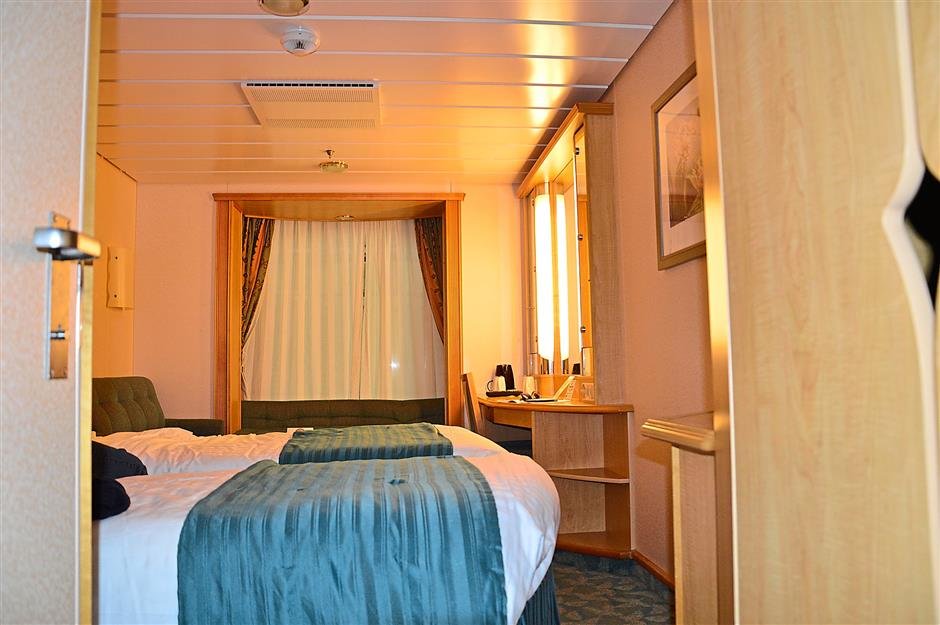 The stateroom for two.