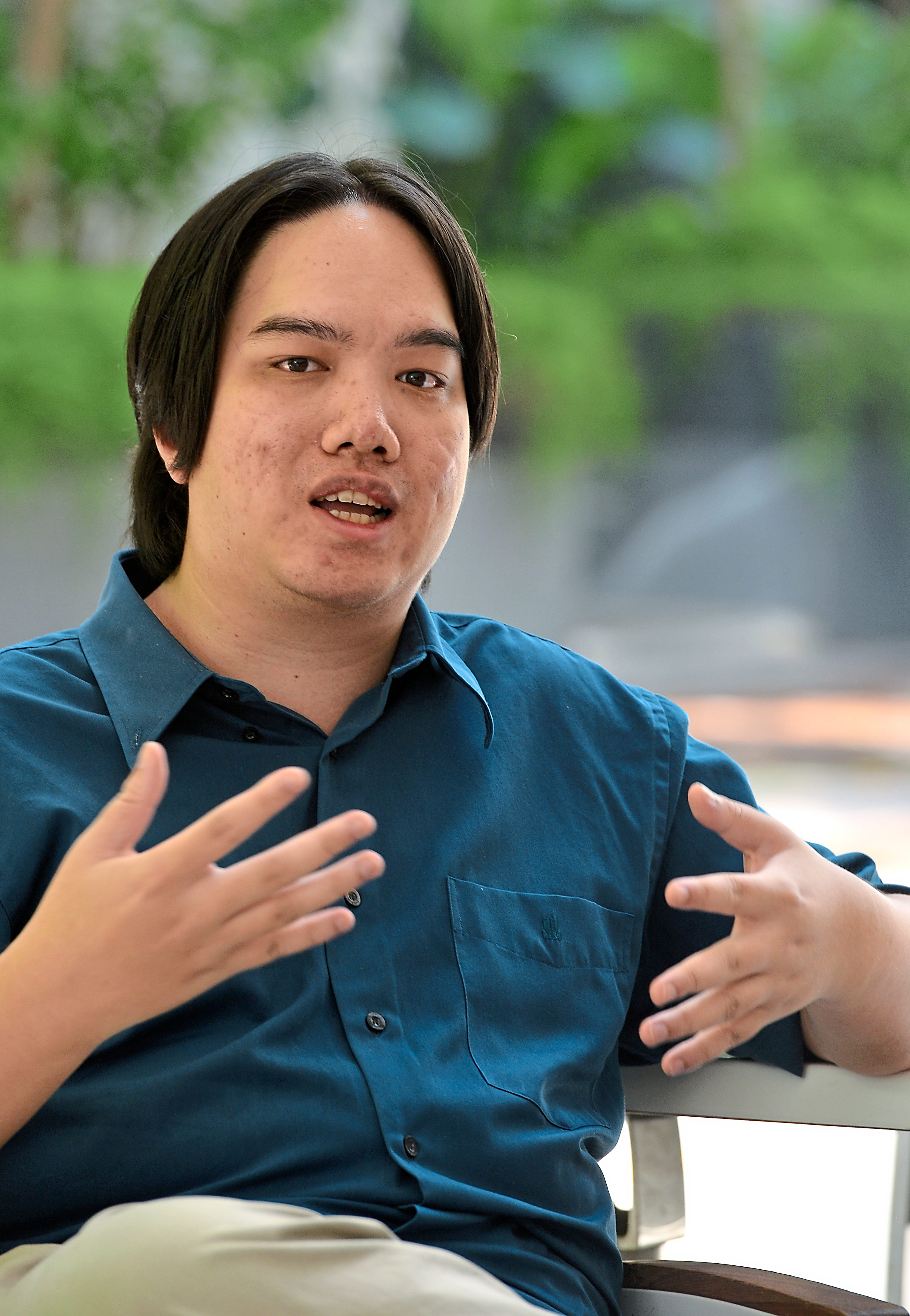 Lew Ke Pang, founder of Project 626