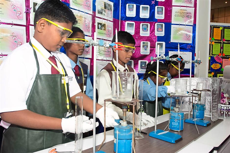 Tamil schools triumph in science fairs   The Star Online