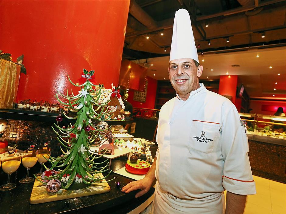 Lamberger says the menu was created with the aim of including more classic Christmas dishes. — Photos: IZZRAFIQ ALIAS/The Star
