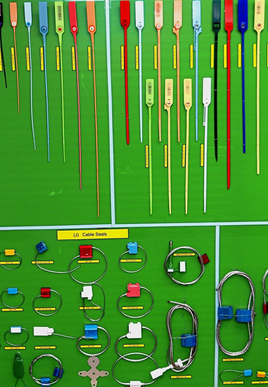 The company produces a variety of seals, including bolt, cable and plastic padlock seals.