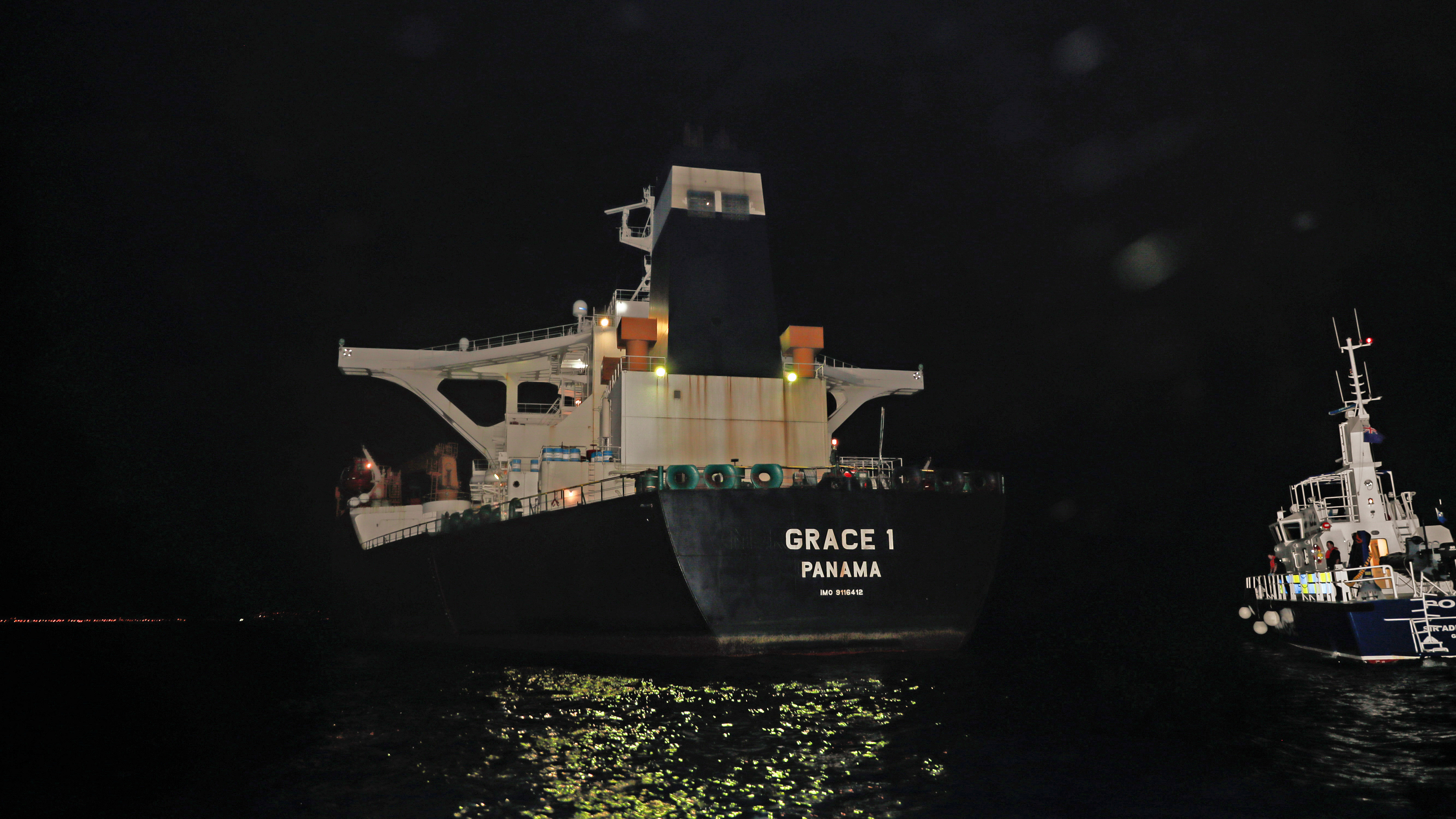 Seized supertanker was full to capacity with crude