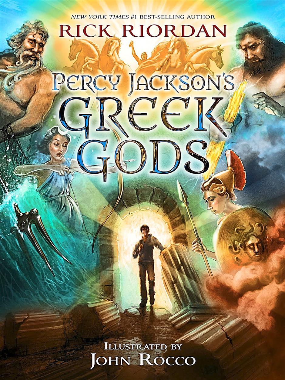 Percy Jacksonâ¿TMs Greek GodsAuthor: Rick RiordanPublisher: Disney-Hyperion, fiction, 336 pages