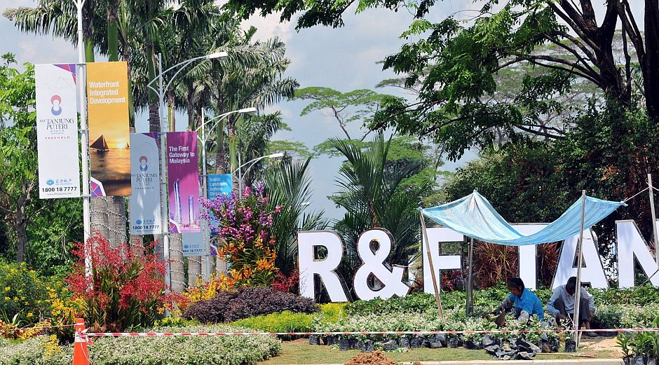 R&F may launch 30,000 units over the next few years on land that is to be reclaimed.