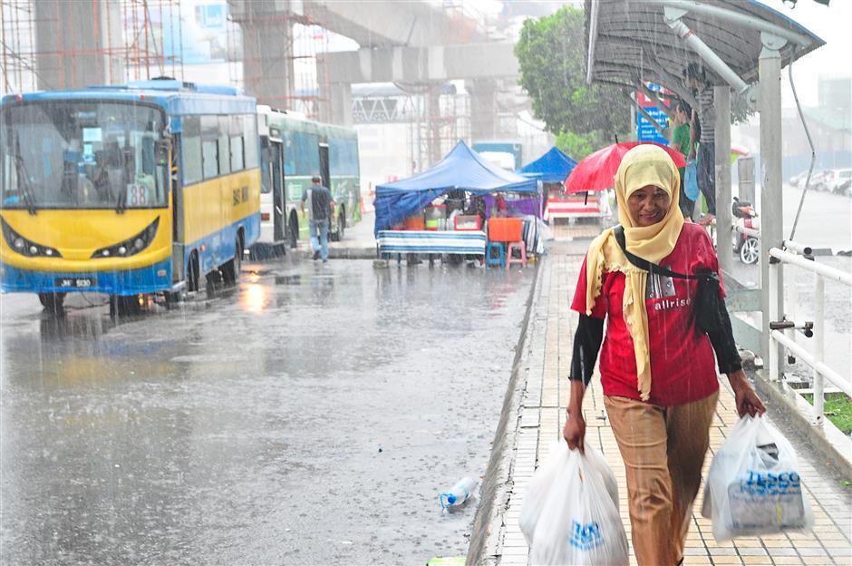 Rain is the bane of anyone choosing to take public transportation.