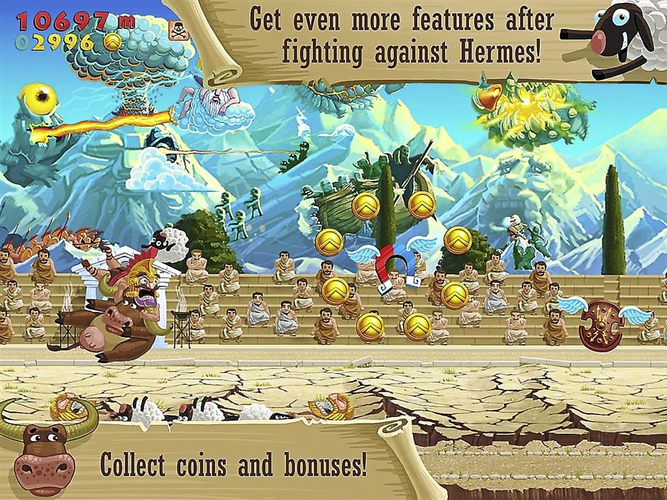 Sheep Happens is a fun and addictive game.