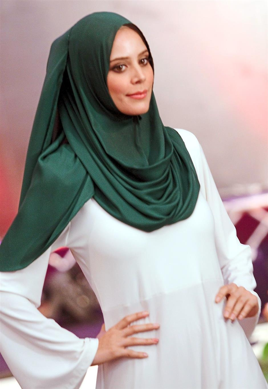 Modest yet stylish: Naelofar Hijab aims to make women look effortlessly chic with their easy to wear hijab.