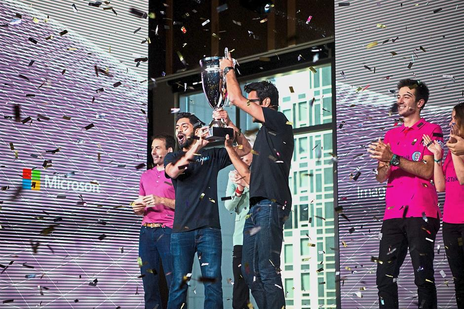 Sweet success: Team Pine from Universiti Tun Hussein Onn Malaysia created a sensing device for farmers that evaluates pineapple ripeness. The technologies that the team employed made them champion at Microsoft's Imagine Cup Asia Pacific Regional Finals.