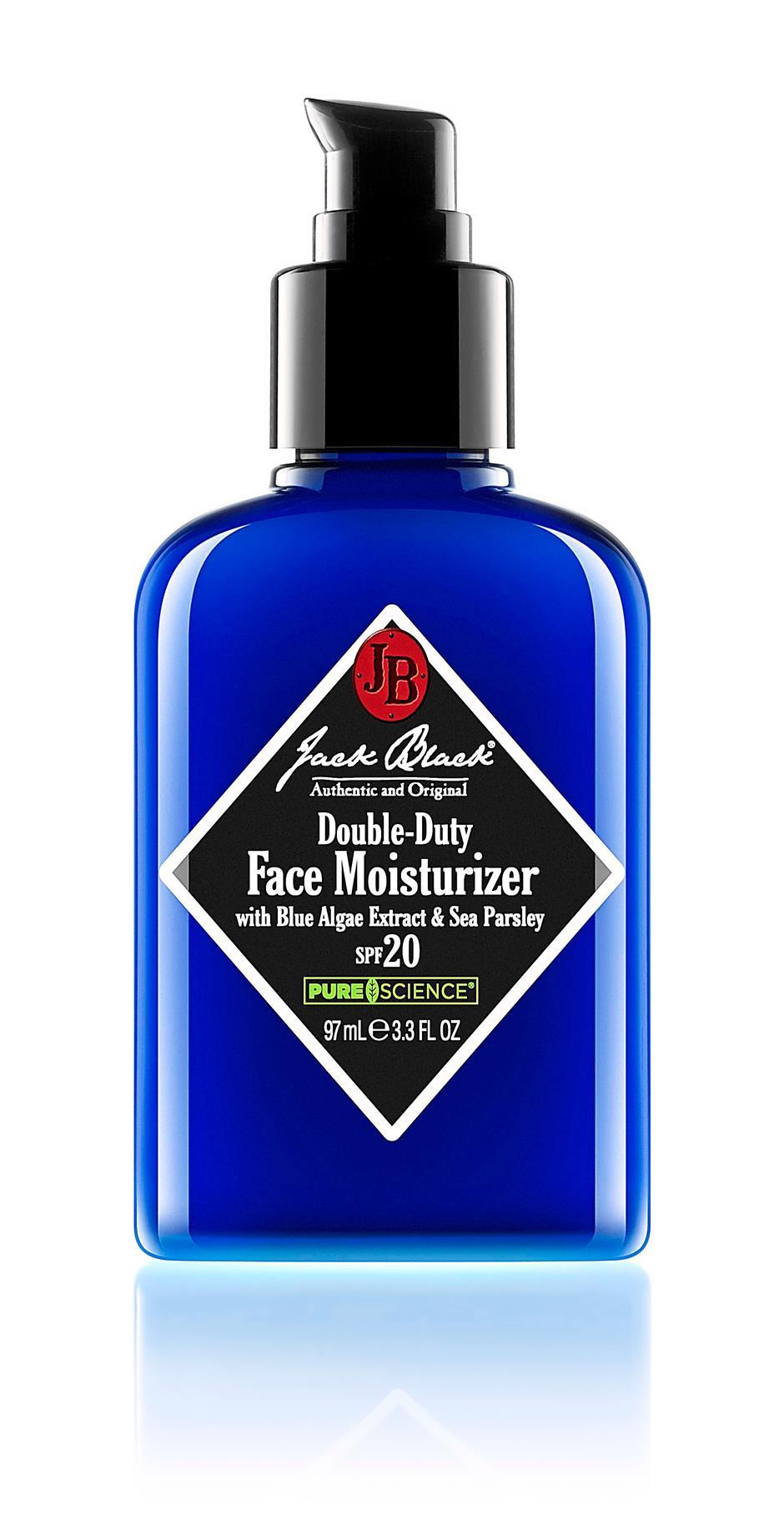 Jack Black Double-duty Face Moisturiser SPF 20.
