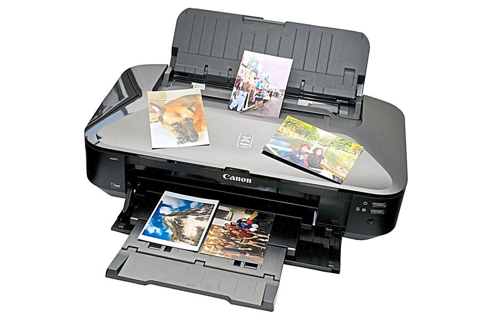 Pretty pictures: The Canon iX6870 produces beautiful colour photo prints. FOR BYTZ USE ONLY.