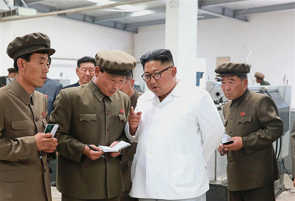 Kim blasts officials during 'field guidance' visits   The Star Online