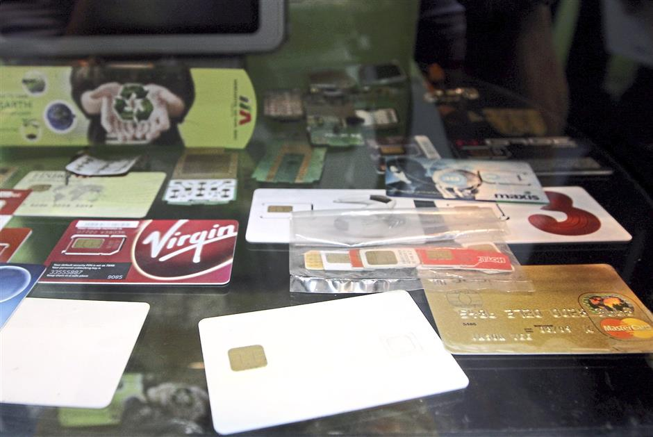 Send your expired plastic cards for recycling; the chip contains gold worth recovering.