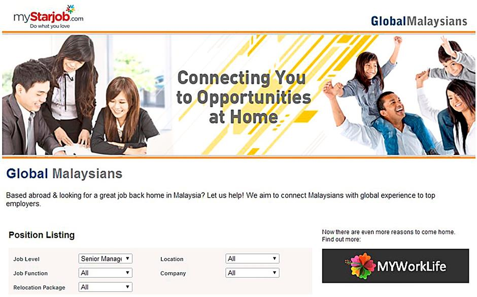 Portal connects Malaysians to jobs at home | The Star Online