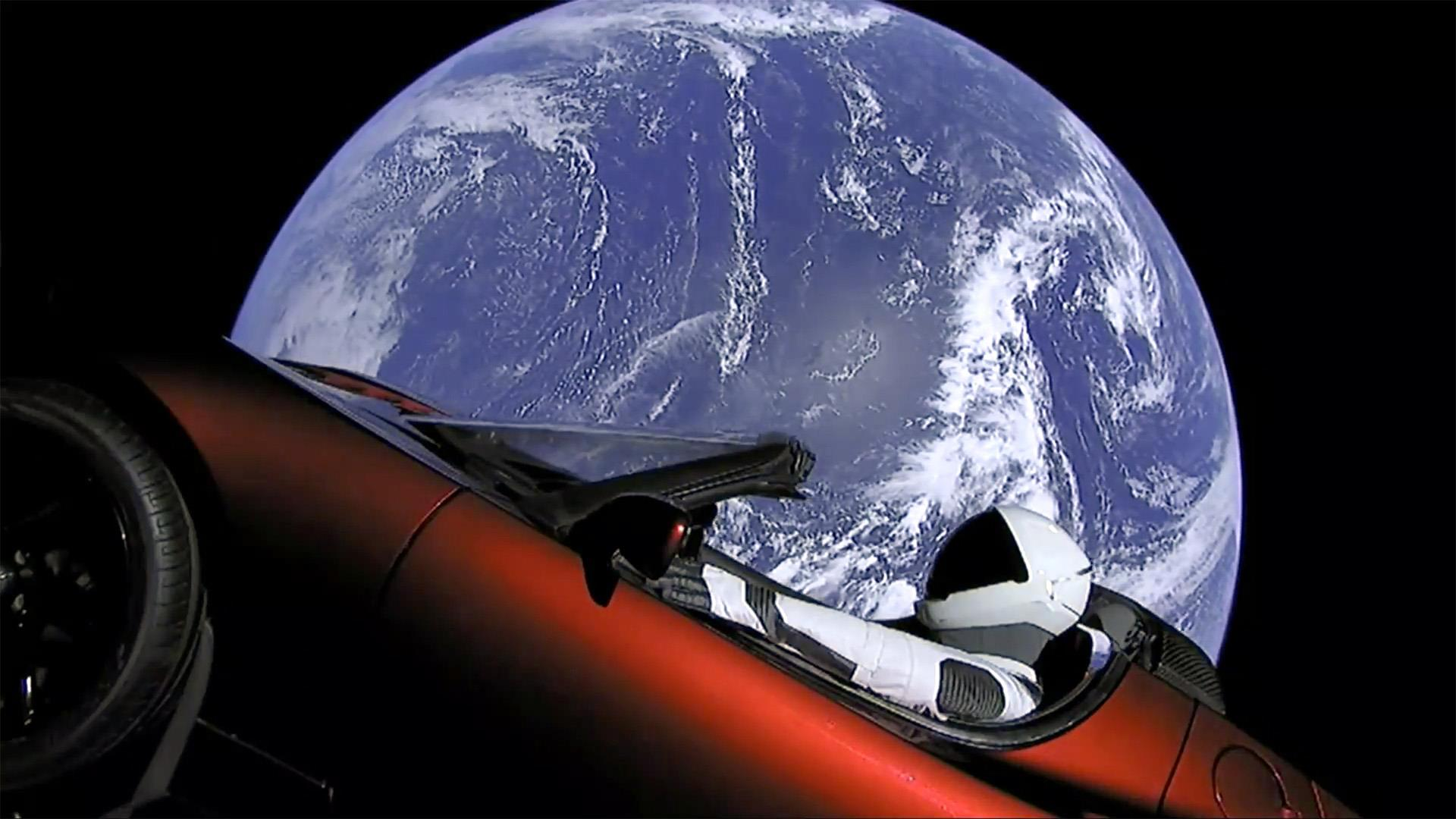 Now you can track where Elon Musk's Tesla is in space  | The