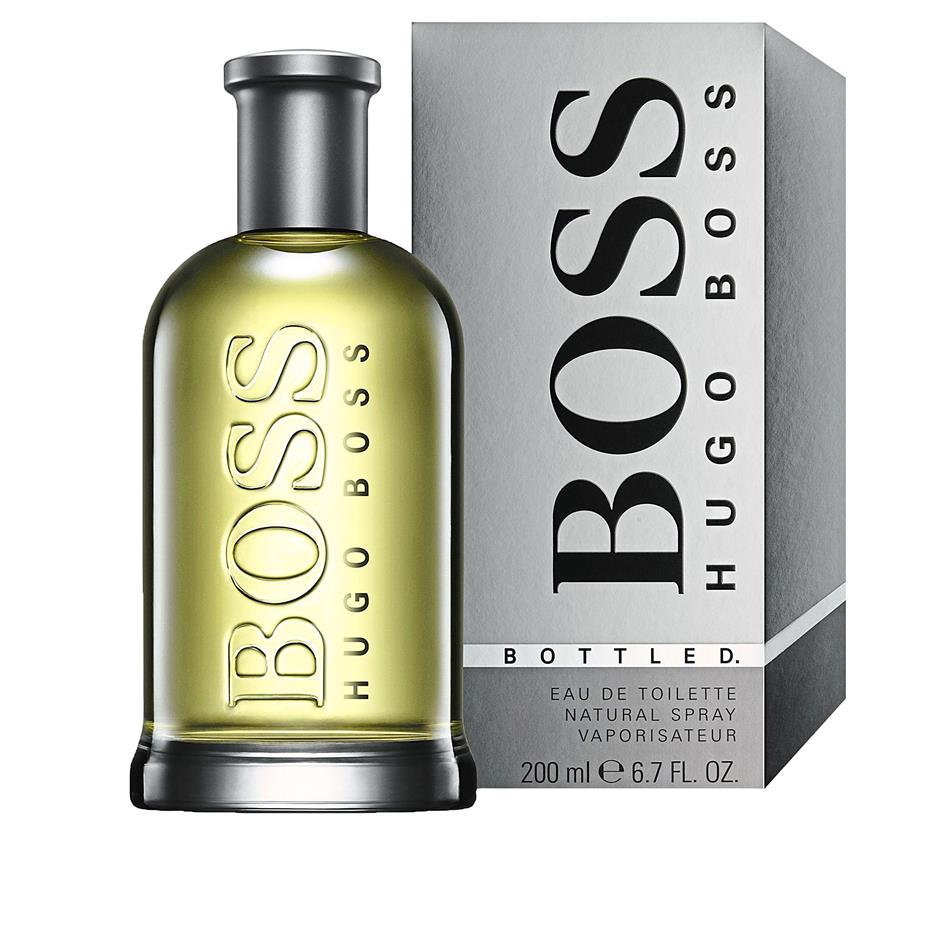 Gerard Butler, the new face of Boss Bottled, reveals his sensitive