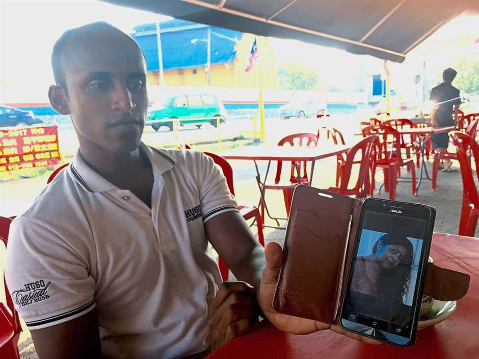 I'm a Malaysian: Chua, who is of mixed parentage, showing a photo of his Indian mother.