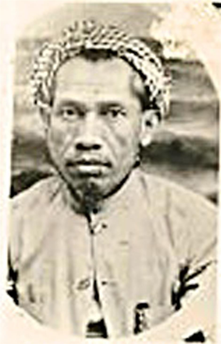 Industrious tradesman: Haji Mohamed Taib bin Haji Abdul Samad (1858 - 1925), with his diligent and enterprising spirit had made himself one of the richest Malays in Kuala Lumpur in his time. (Photo from the Internet)