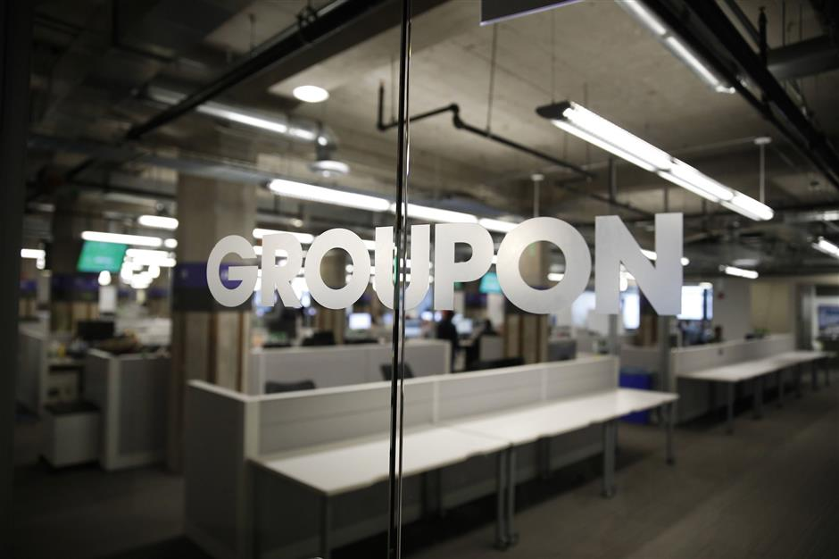 Groupon in Chicago on Wednesday, Nov. 14, 2018. The story is for Groupon\'s 10-year anniversary. (Jose M.Osorio/Chicago Tribune/TNS)