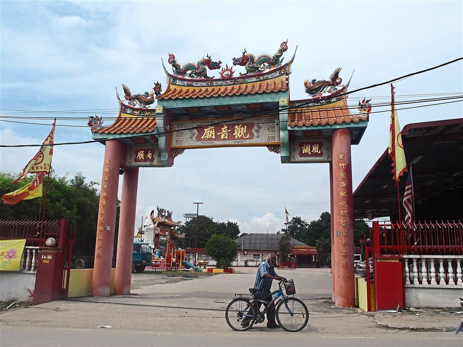 Landmark: The 40-year-old Guan Yin (Goddess of Mercy) temple.