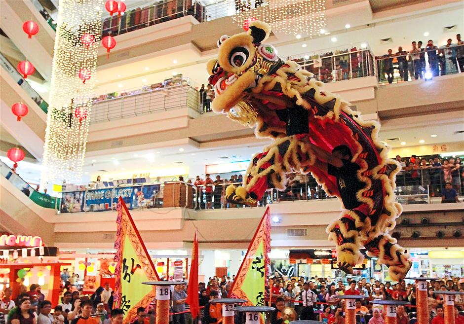 Lion dance teams fight for honours in championship | The Star Online