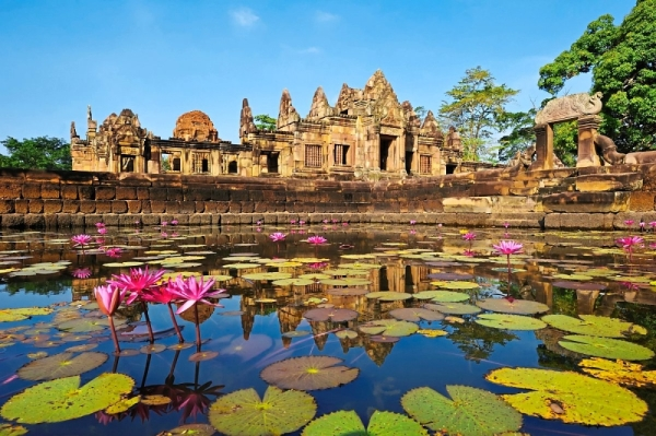 Historical treasure: The Ensembles of Phanom Rung, Muang Tam and Plai Bat Sanctuaries in Buri Ram made the world heritage waiting list. u2014 Photo courtesy of Thailandu2019s Culture Ministry
