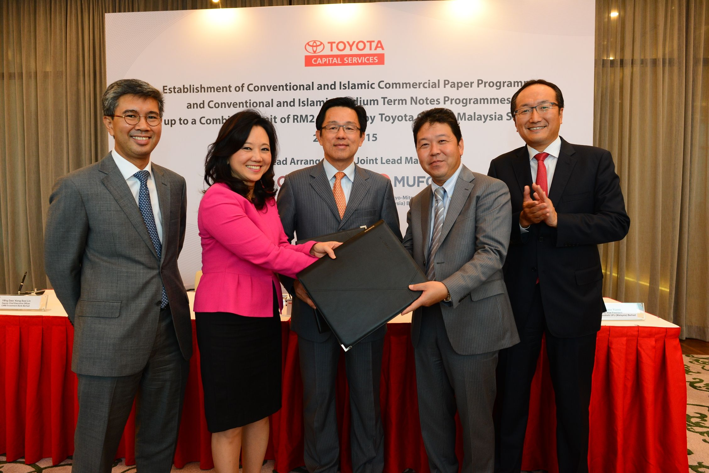 Toyota Capital Malaysia Sets Up Rm2 5b Funding Agreements The Star