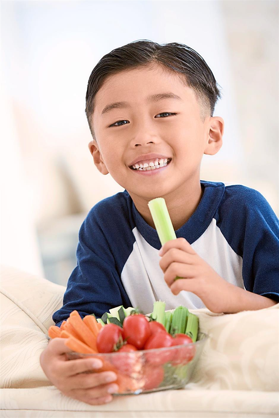When children don't eat enough vegetables and fruits, they could suffer from hidden hunger, which is a deficiency in micronutrients.