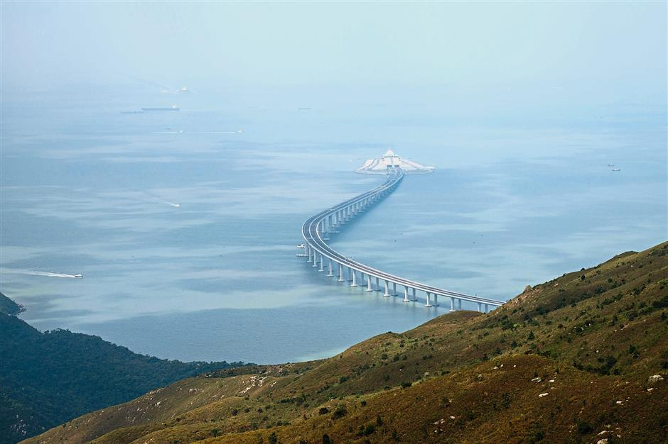 Bridging investments: The Hong Kong-Zhuhai-Macau Bridge is one of the developments under the Greater Bay Area, which is the Chinese government's scheme to link the cities of Hong Kong, Macau, Guangzhou, Shenzhen, Zhuhai, Foshan, Zhongshan, Dongguan, Huizhou, Jiangmen and Zhaoqing into an integrated economic and business hub. — AFP