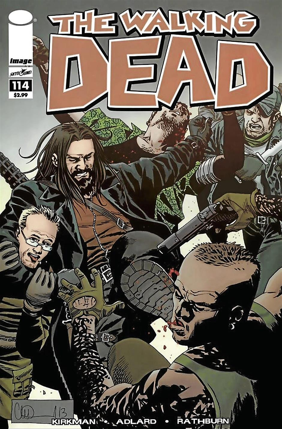 The Walking Dead #114Creators: Robert Kirkman, Charlie AdlardPublisher: Image Comics