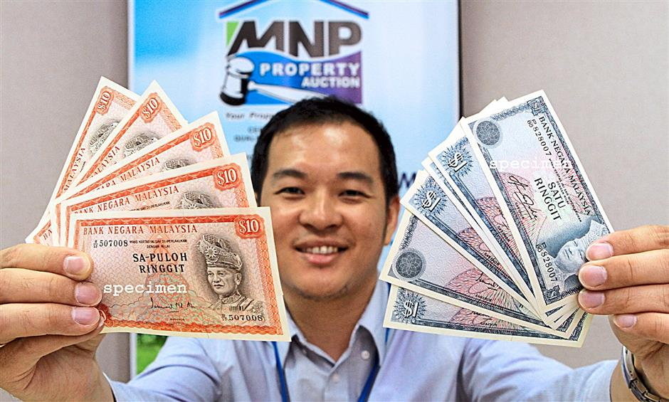 Currency with unusual serial numbers to be auctioned | The Star Online