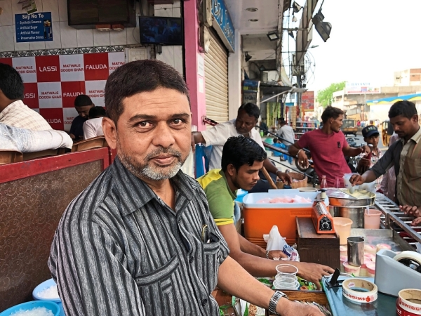 Matwale, the 54-year-old lassi shop owner is frustrated due to rising cost.