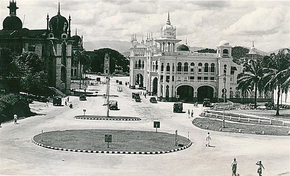 Kuala Lumpur in 1947. - Photo from Rosemary Palmer