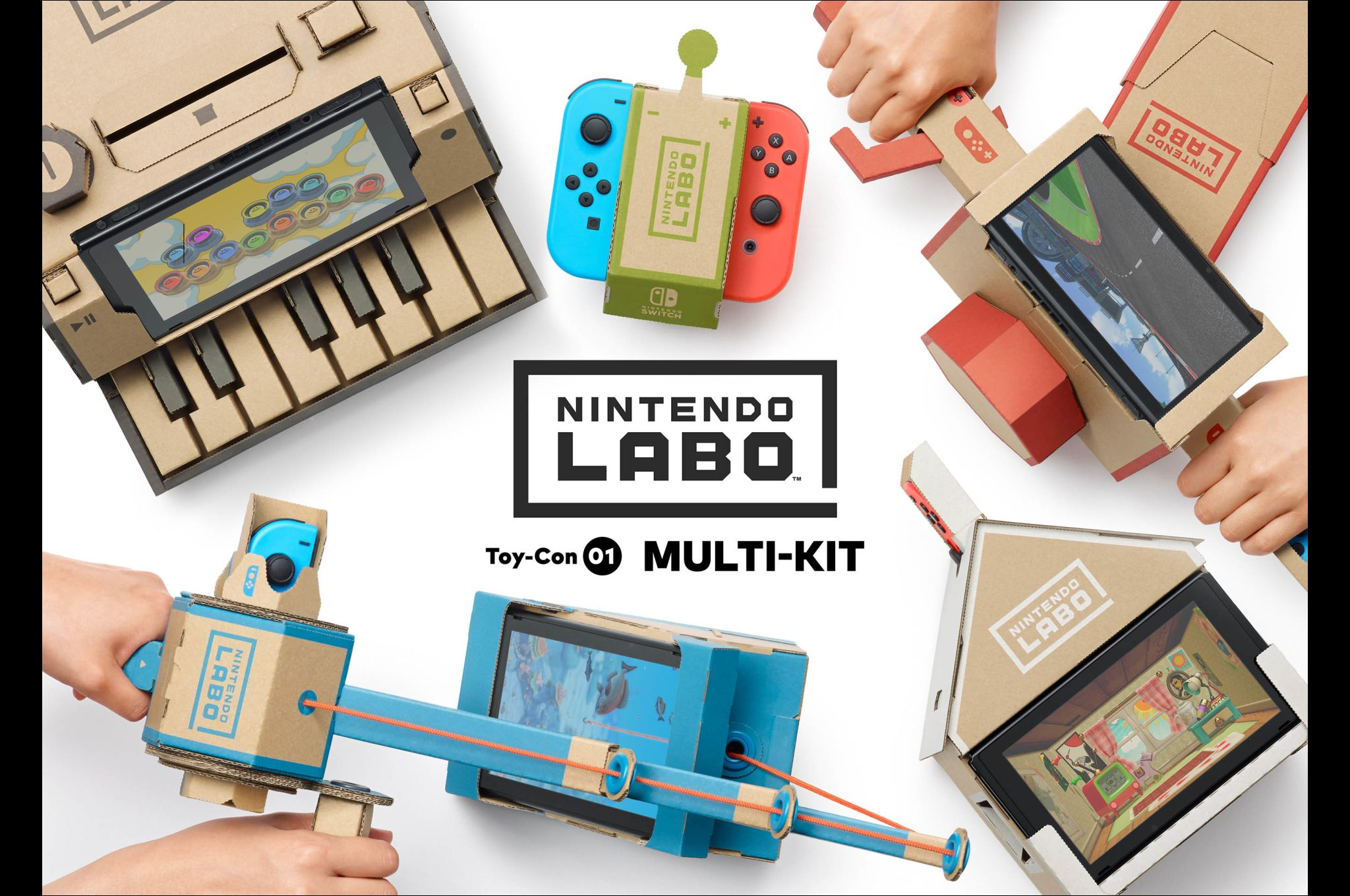 Nintendo Labo, one of three multi-award winners at the 2019 BAFTA Games Awards. u2014 AFP Relaxnews