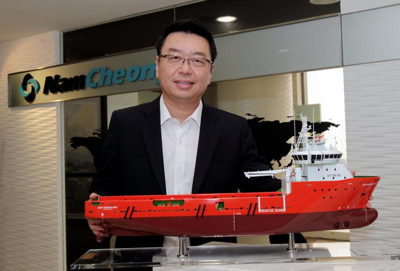 Nam Cheong CEO Leong Seng Keat is optimistic of the company\'s prospects in view of the rising exploration and production spending in the global O&G industry, and the robust demand for its vessels.