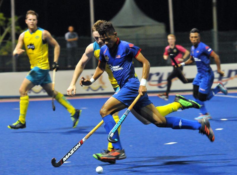 Australia steamroll past Malaysia in Sultan of Johor Cup